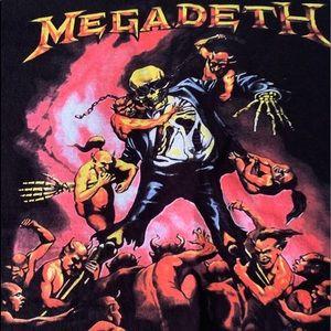 Hanes Shirts - Megadeth 💀Tee 🤘😝
